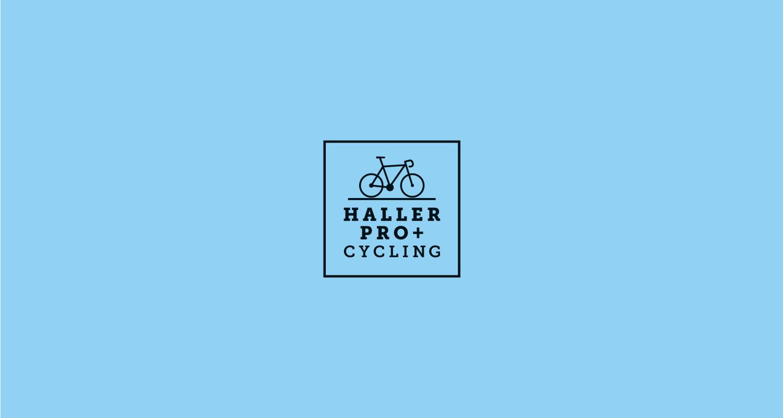 Haller Pro+ Cycling Logo