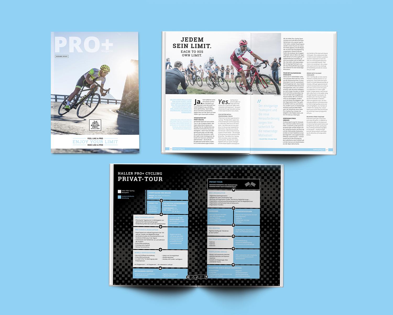 Haller Pro+ Cycling Kundenmagazin