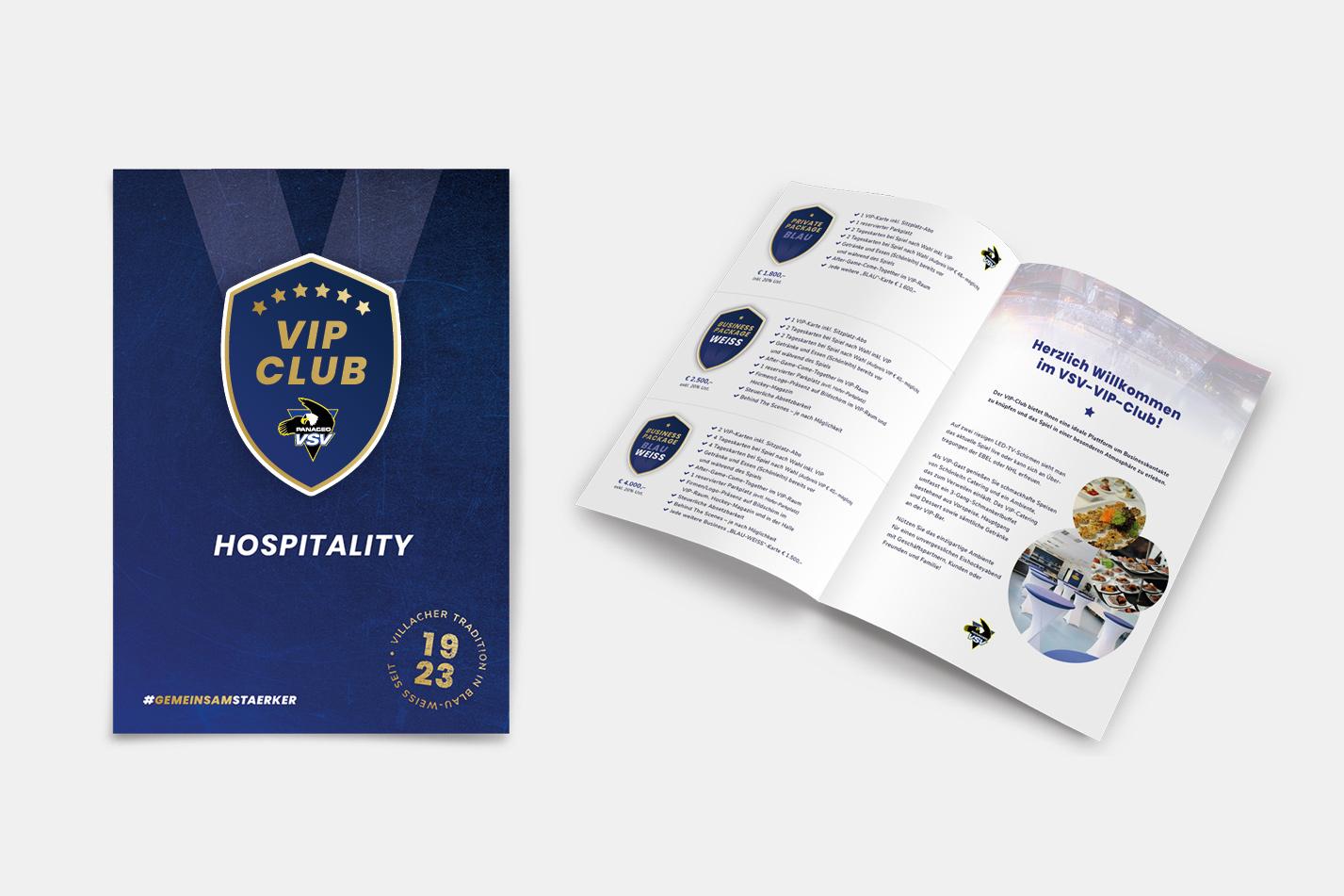 EC Panaceo VSV Hospitality Folder Saison 2018/19