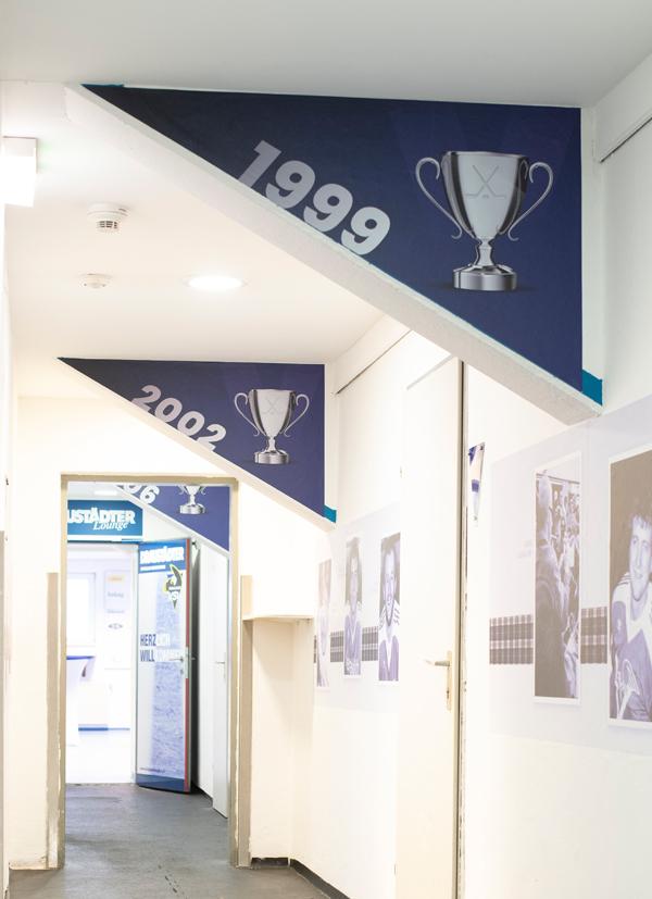 EC Panaceo VSV Eishalle Durchgang Saison 2018/19