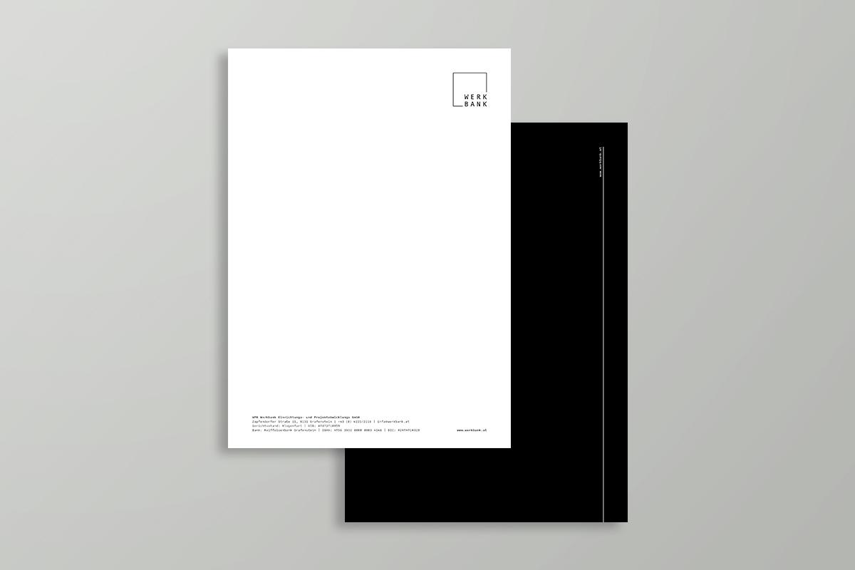 WERKBANK Briefpapier